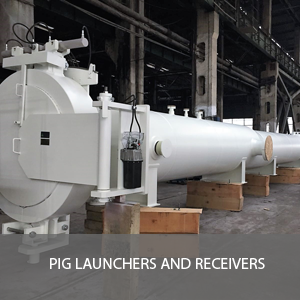 PIG LAUNCHERS AND RECEIVERS