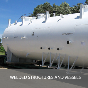 WELDED STRUCTURES AND VESSELS